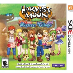 Foto Jogo Harvest Moon Skytree Village Natsume Nintendo 3DS