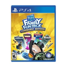 Foto Jogo Hasbro Family Fun Pack PS4 Ubisoft