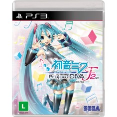 Foto Jogo Hatsune Miku Project DIVA F 2nd PlayStation 3 Sega
