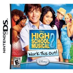 Foto Jogo High School Musical 2 Work This Out Disney Nintendo DS