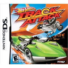 Foto Jogo Hot Wheels Track Attack THQ Nintendo DS