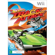 Foto Jogo Hot Wheels: Track Attack Wii THQ