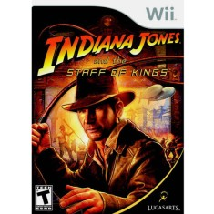 Foto Jogo Indiana Jones and the Staff of Kings Wii LucasArts