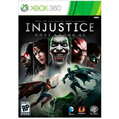 Foto Jogo Injustice: Gods Among Us Xbox 360 Warner Bros