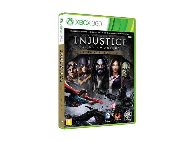 Jogo Injustice Gods Among Us Xbox 360 Warner Bros Economize Com Bondfaro