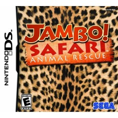 Foto Jogo Jambo! Safari Animal Rescue Sega Nintendo DS