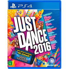 Foto Jogo Just Dance 2016 PS4 Ubisoft