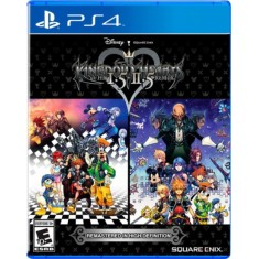 Foto Jogo Kingdom Hearts HD I.5 + II.5 ReMIX PS4 Square Enix