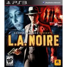 Foto Jogo L.A. Noire PlayStation 3 Rockstar
