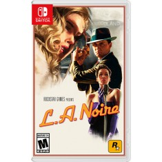 Jogo L.A. Noire Rockstar Nintendo Switch