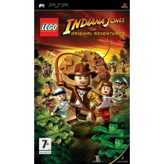 Foto Jogo Lego Indiana Jones The Original Adventures LucasArts PlayStation Portátil