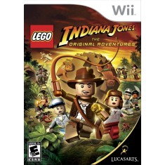 Foto Jogo Lego Indiana Jones: The Original Adventures Wii LucasArts