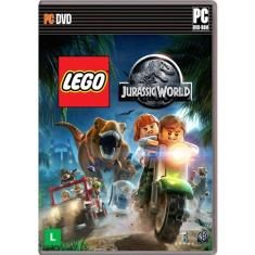 Jogo Lego Jurassic World Windows Warner Bros