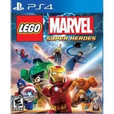 Jogo Lego Marvel Super Heroes PS4 Warner Bros