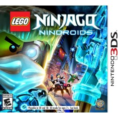 Jogo Lego Ninjago: Nindroids Warner Bros Nintendo 3DS