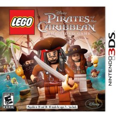 Foto Jogo Lego Pirates Of The Caribbean LucasArts Nintendo 3DS