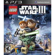 Foto Jogo Lego Star Wars III: The Clone Wars PlayStation 3 LucasArts