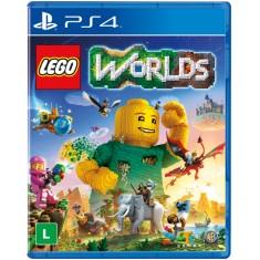 Jogo Lego Worlds PS4 Warner Bros