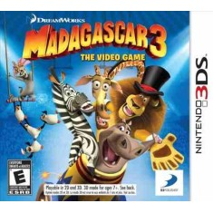 Foto Jogo Madagascar 3: The Video Game 3DS DreamWorks Nintendo 3DS
