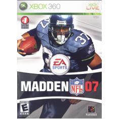 Jogo Madden NFL 07 Xbox 360 EA