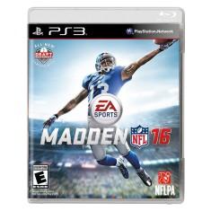 Jogo Madden NFL 16 PlayStation 3 EA