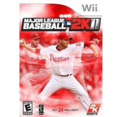 Foto Jogo Major League Baseball 2K11 Wii 2K