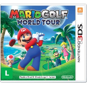 Jogo Mario Golf World Tour Nintendo 3DS