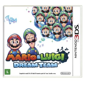 Jogo Mario & Luigi Dream Team Nintendo 3DS