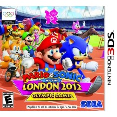 Foto Jogo Mario & Sonic At The London 2012 Olympic Games Sega Nintendo 3DS