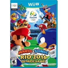 Foto Jogo Mario & Sonic at the Rio 2016 Olympic Games Wii U Nintendo