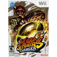 Foto Jogo Mario Strikers Charged Wii Nintendo