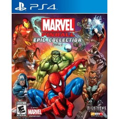 Foto Jogo Marvel Pinball Epic Collection 1 PS4 Nighthawk Interactive