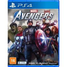 Jogo Marvel's Avengers PS4 Crystal Dynamics