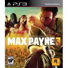 Jogo Max Payne 3 PlayStation 3 Rockstar