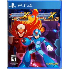 Jogo Mega Man X Legacy Collection 1 & 2 PS4 Capcom