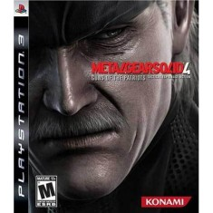 Jogo Metal Gear Solid 4: Guns of the Patriots PlayStation 3 Konami