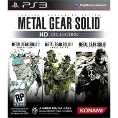 Foto Jogo Metal Gear Solid HD Collection PlayStation 3 Konami
