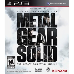 Foto Jogo Metal Gear Solid: The Legacy Collection PlayStation 3 Konami