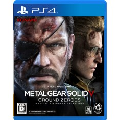 Foto Jogo Metal Gear Solid V: Ground Zeroes PS4 Konami