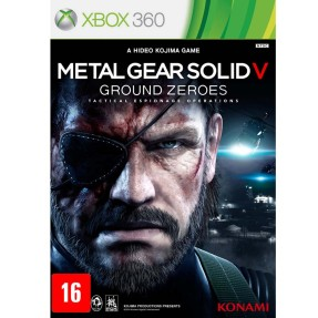 Foto Jogo Metal Gear Solid V: Ground Zeroes Xbox 360 Konami