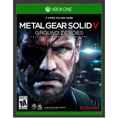 Foto Jogo Metal Gear Solid V: Ground Zeroes Xbox One Konami