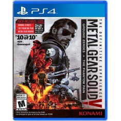 Foto Jogo Metal Gear Solid V The Definitive Experience PS4 Konami