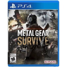 Foto Jogo Metal Gear Survive PS4 Konami
