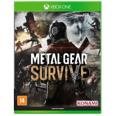 Foto Jogo Metal Gear Survive Xbox One Konami