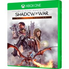 Jogo Middle Earth Shadow Of War Xbox One Warner Bros