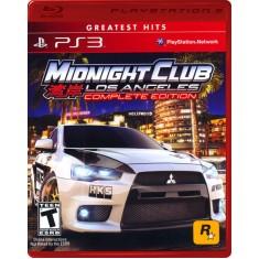 Jogo Midnight Club Los Angeles PlayStation 3 Rockstar