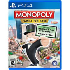 Foto Jogo Monopoly Family Fun Pack PS4 Ubisoft