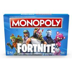 Jogo Monopoly Fortnite Hasbro