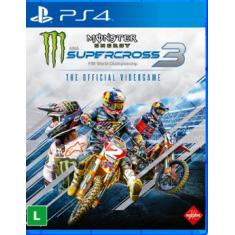 Jogo Monster Energy - SuperCross 3 PS4 Milestone