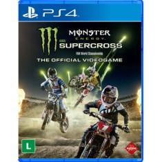 Foto Jogo Monster Energy Supercross The Official Videogame PS4 Milestone